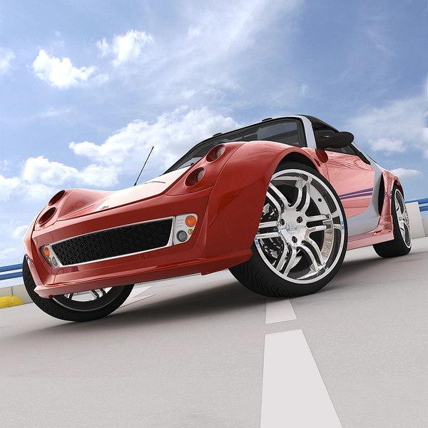 smart roadster coupe sedan c4d. Black Bedroom Furniture Sets. Home Design Ideas