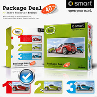 smart roadster coupe sedan c4d