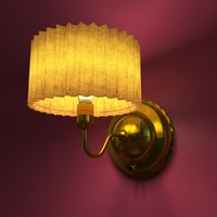 decorative wall lamp lighting 3d max