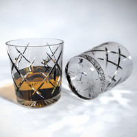 maya crystal whiskey tumbler