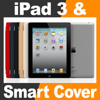 Apple New iPad 3 and Smart Cover