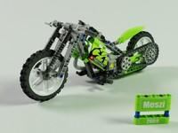free lego 8291 3d model