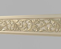 3dsmax classical moulding 04 interiors