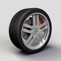 Wheel Baccarat - Fusion rims and tyre