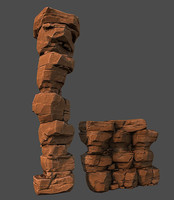stranege desert rocks