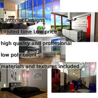 5 High quality interior designs