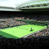 3ds max wimbledon centre court