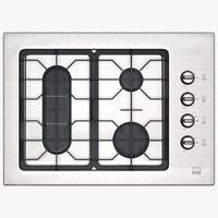 3d standard gas cooktop right