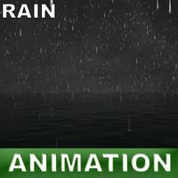 ocean rain 3d max