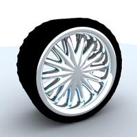 free wheel 2010 3d model