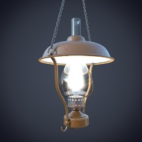 3ds max lamp chain hanging