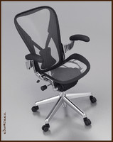 aeron office chair high back