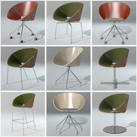 3ds max set lipse chair davis