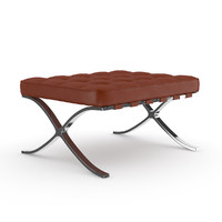 maya leather stool c