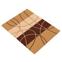 Brown-Orange Rug