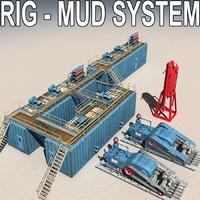Land Rig Mud system