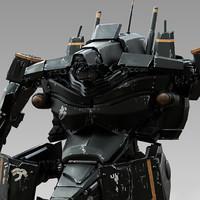 mech exosuit 3d model