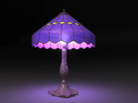 Antique Tiffany-style Table Lamp