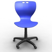 mata chair wheels office 3d model