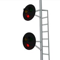 signal lights c4d