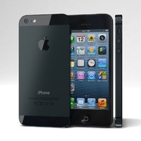 apple iphone 5 black lwo