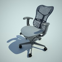 mirra task chair 3d model