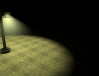 street lamp 3d c4d