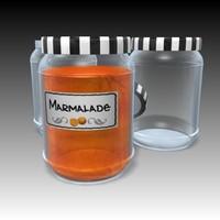 marmalade 3d model