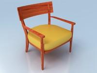 chair simple 3d max