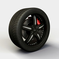 Wheel Baccarat - Sync rims and tire