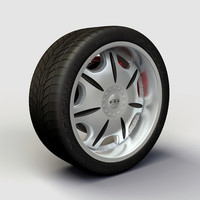 Wheel Baccarat - Director rims and tire