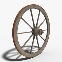 3d wagon wheel