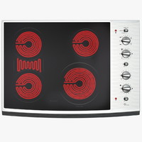 3ds standard electric cooktop elements