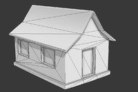 house mini build low poly mmo rpg