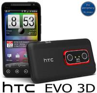 htc evo smartphone 3d max