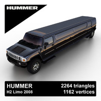hummer h2 2008 obj