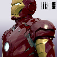 iron man mark iii 3d model