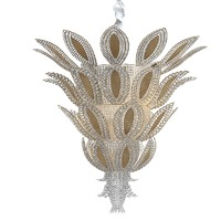 Pineapple art deco luxury crystal  chandelier
