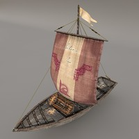 maya fishing sailboat