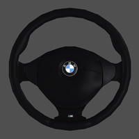 3ds max bmw - e36 steering wheel