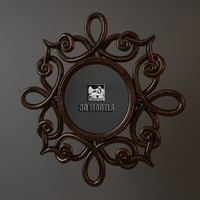 bizzotto mirror frame 3d model