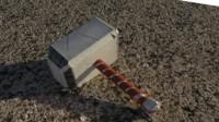 mjolnir thor s 3d model
