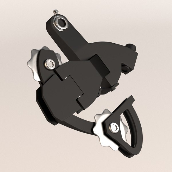 bicycle 3d model - bicycle transmission part... by bescec