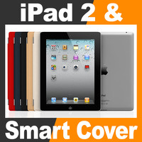 apple ipad smart cover 3d model