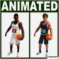 jersey animations throw 3d model
