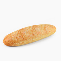 3d long bread