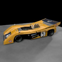 cinema4d can-am mclaren m20 hulme