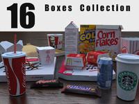 3d 16 boxes model