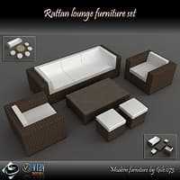 maya rattan furniture set