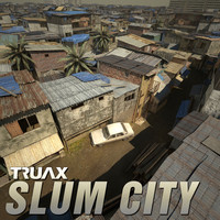studio slum city 3d model